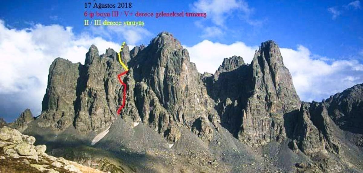 Altıparmak Dağı'nda Yeni Rota: Reşit Abi
